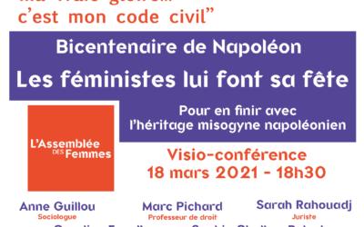 Bicentenaire de Napoléon : les féministes lui font sa fête